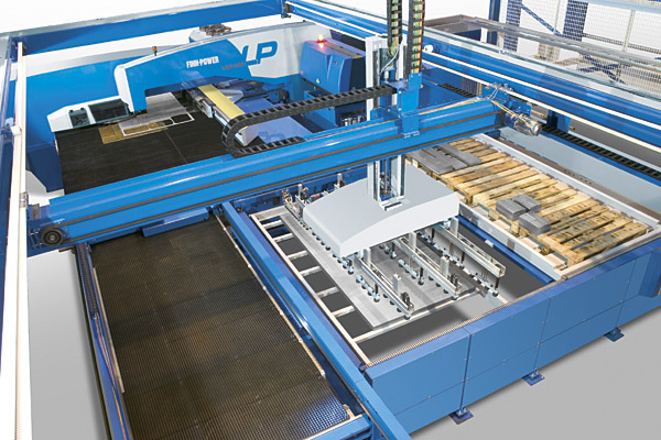 Turret Punching - Finn Power Fully Automated | Alumac Industries